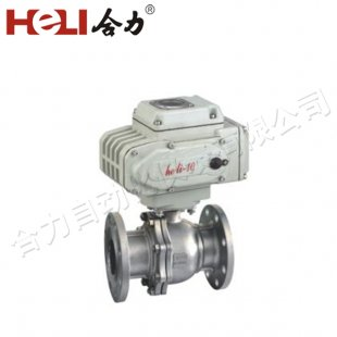 Intelligent Electric Adjustment Flange Ball Valve (Temperature Flow Control Valve)