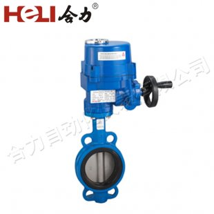 Electric Wafer Soft Seal Butterfly Valve